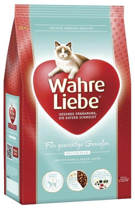 Wahre Liebe (4 кг) Для кошек с избыточным весом, стерилизованных и кастратов