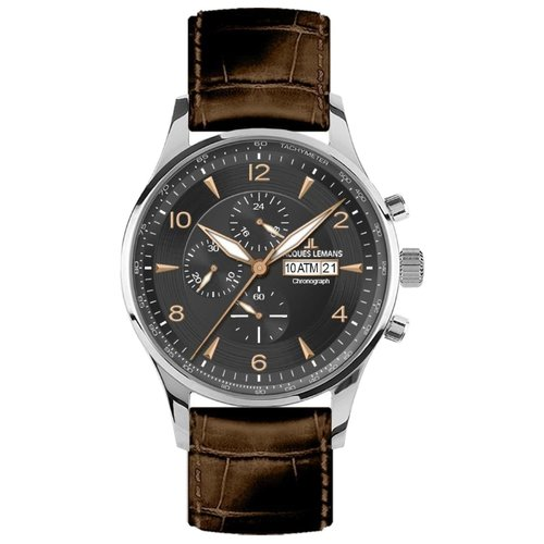 цена Наручные часы JACQUES LEMANS 1-1844D онлайн в 2017 году