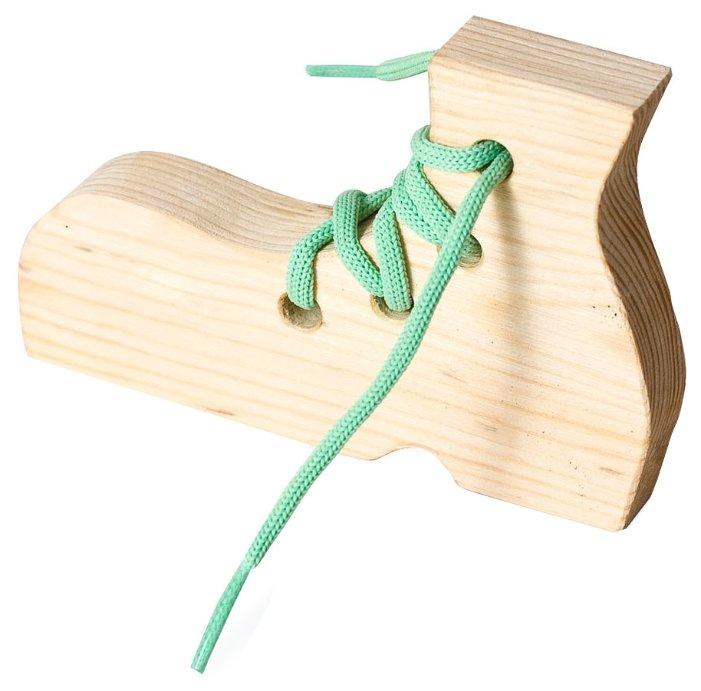 Шнуровка Бэмби Русские народные игрушки Ботинок (7730)