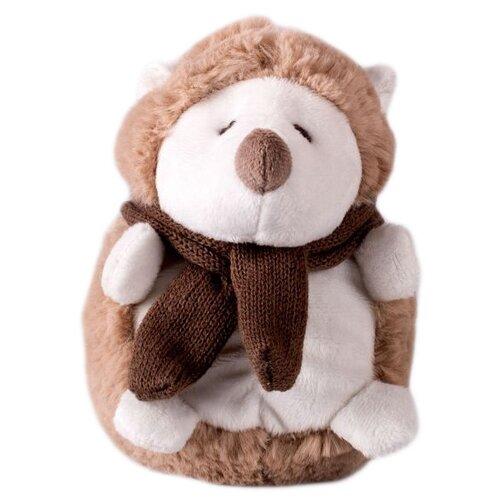 цена на Мягкая игрушка Button Blue Ежик в шарфике 20 см