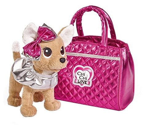 Мягкая игрушка Simba Chi chi love Собачка Гламур 20 см