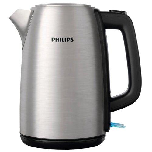 Чайник Philips HD9351, нержавеющая сталь соковыжималка philips hr1837 00 500 вт нержавеющая сталь чёрный