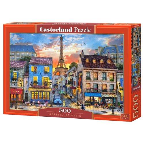 Купить Пазл Castorland Streets of Paris (B-52684), 500 дет., Пазлы