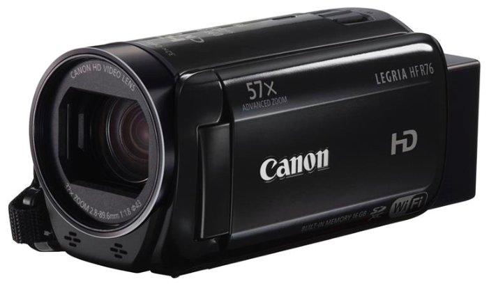 Сравнение с Видеокамера Canon R76 Legria HF*