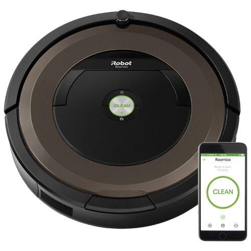 Робот-пылесос iRobot Roomba 896 черный/коричневый