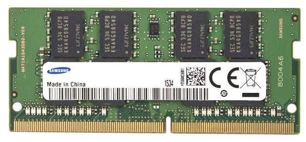 Samsung Оперативная память Samsung DDR4 2400 SO-DIMM 16Gb