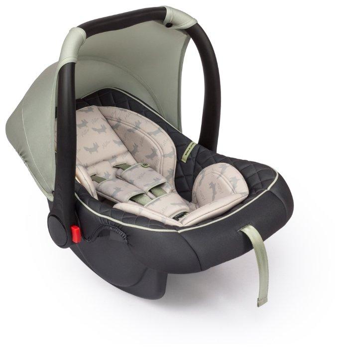 Автокресло группа 0+ (до 13 кг) Happy Baby Skyler V2 black