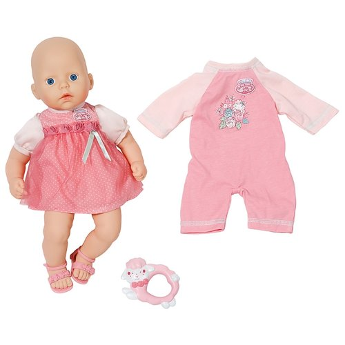 Купить Кукла Zapf Creation Baby Anabelle с набором одежды 36 см 794-333, Куклы и пупсы