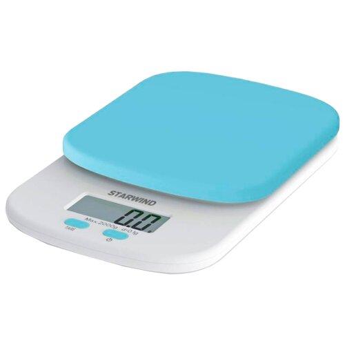 Кухонные весы STARWIND SSK2155/2156/2157/2158 голубойКухонные весы<br>