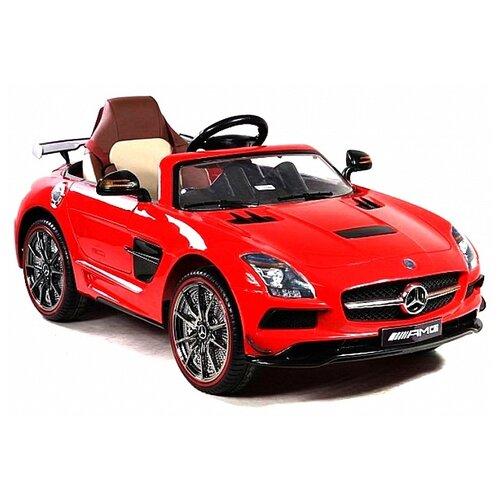 Купить RiverToys Автомобиль Mercedes-Benz SLS A333AA VIP, красный, Электромобили