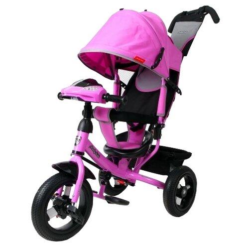 Трехколесный велосипед Moby Kids Comfort 12x10 AIR Car1 лиловый велосипед трехколесный funny scoo volt air ms 0576 фиолетовый