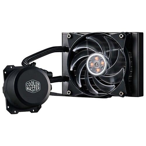 Система водяного охлаждения для процессора Cooler Master MasterLiquid ML120L RGB система охлаждения cooler master masterliquid ml240r rgb
