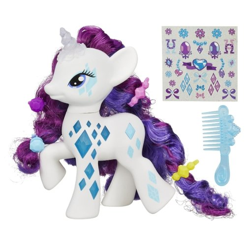 Игровой набор My Little Pony Пони-модница Рарити B0367 игровой набор b2072eu4 на ферме яблочная аллея my little pony my little pony