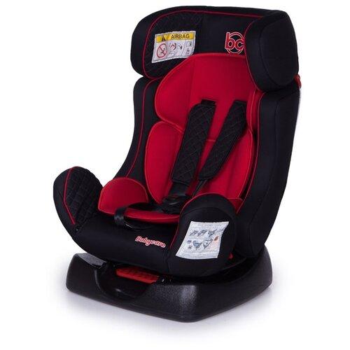Фото - Автокресло группа 0/1/2 (до 25 кг) Baby Care Nika, black/red автокресло группа 0 1 до 18 кг renolux 360 red