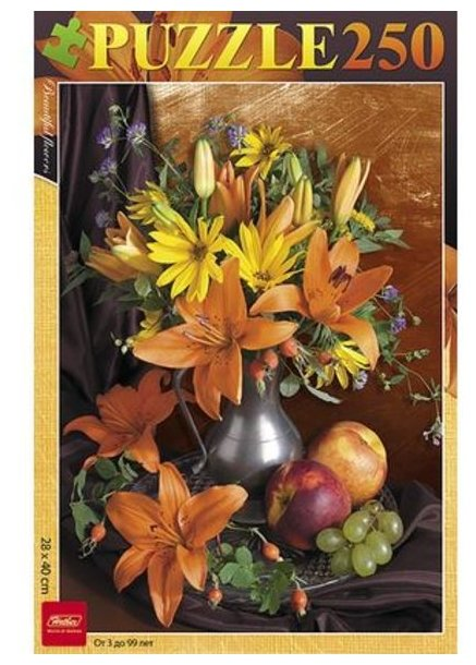 Пазл Hatber Букет цветов (250ПЗ3_09919), 250 дет.
