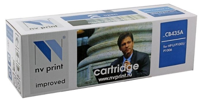 Картридж NV Print CB435A для HP, совместимый