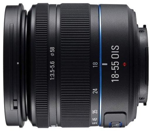 Объектив Samsung 18-55mm f/3.5-5.6 OIS II (iFnS1855IB)