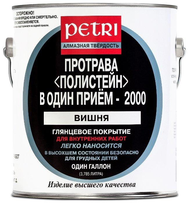 Лаки для мебели PETRI POLYSTAIN протрава лак полиуретановый цветной, сосна (3,8л)