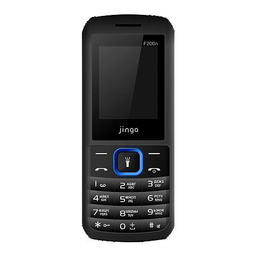Телефон Jinga Simple F200n черно-синий