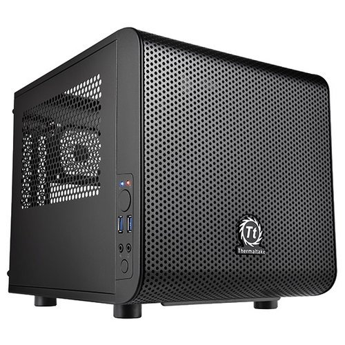 Компьютерный корпус Thermaltake Core V1 CA-1B8-00S1WN-00 Black корпус thermaltake versa h18 ca 1j4 00s1wn 00 black