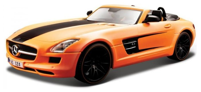 Легковой автомобиль Maisto Mercedes-Benz SLS AMG Roadster Tuning (31370) 1:24 19 см