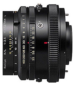 Объектив Mamiya KL 127mm f/3.5 L RZ65
