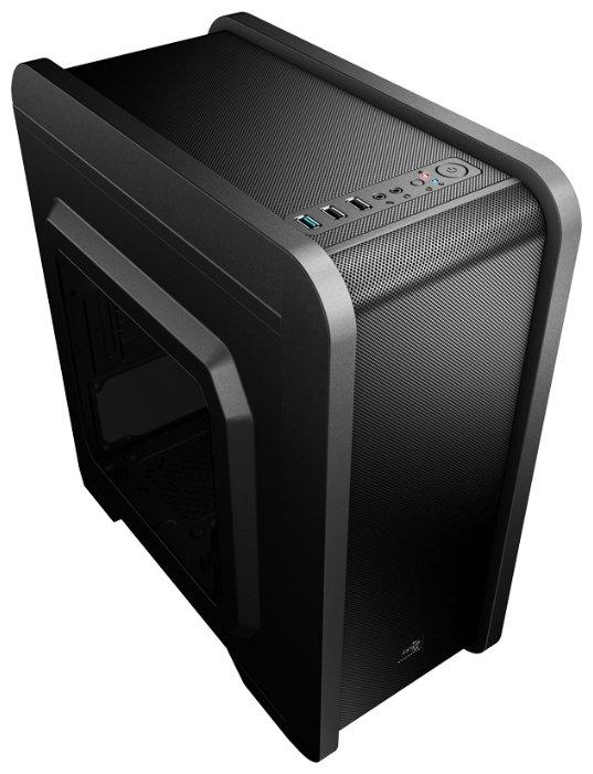 Компьютерный корпус AeroCool Qs-240 Black
