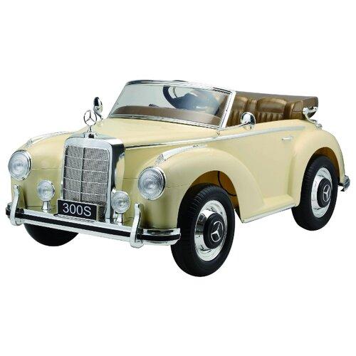 Купить RiverToys Автомобиль Mercedes-Benz S300, beige, Электромобили