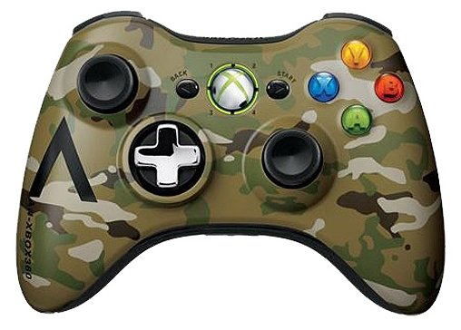 Microsoft Xbox 360 Wireless Controller Camouflage