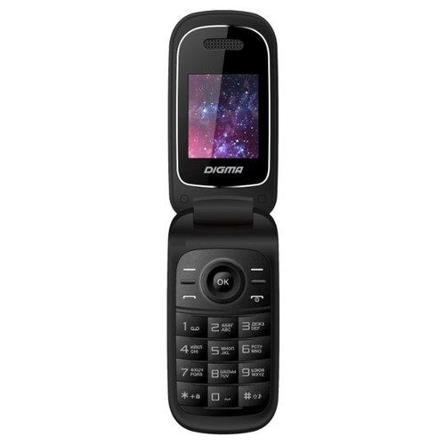 Телефон DIGMA LINX A205 2G черный телефон