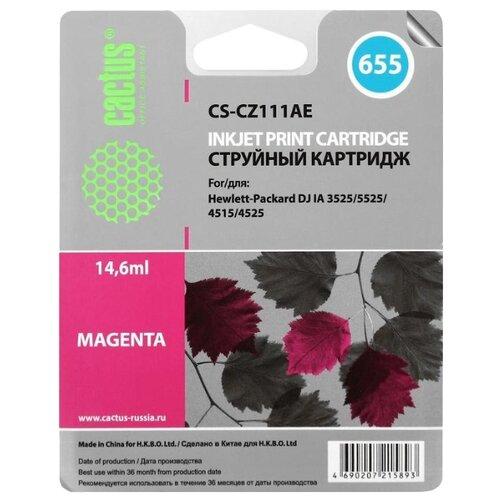 Купить Картридж cactus CS-CZ111AE 655, совместимый