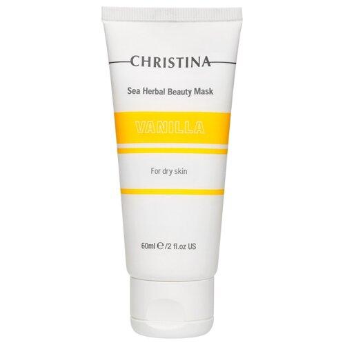 Christina Sea Herbal маска красоты Ваниль, 60 мл christina sea herbal маска красоты яблоко 250 мл