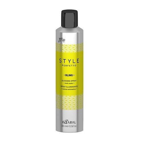 Kaaral Style Perfetto Спрей-защита от курчавости волос и для придания блеска, 300 мл