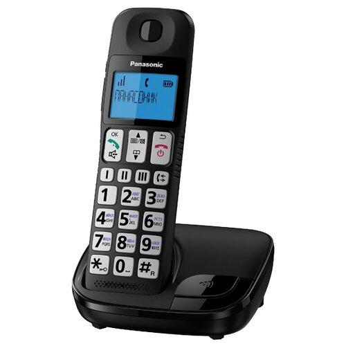 Радиотелефон Panasonic KX-TGE110 черный радиотелефон