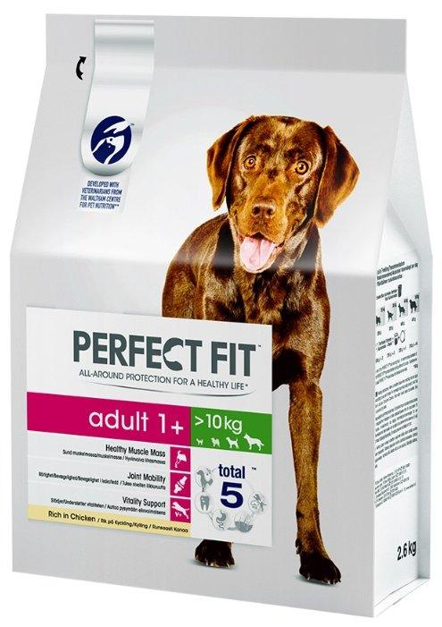 Perfect Fit (0.8 кг) Сухой корм для собак средних и крупных пород с курицей
