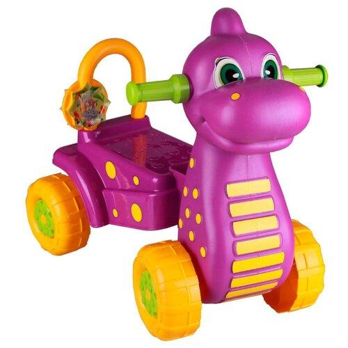 Купить Каталка-толокар Альтернатива Дракон (М3897/М3898) фиолетовый, Каталки и качалки