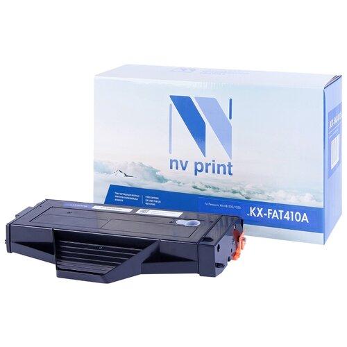Фото - Картридж NV Print KX-FAT410A для Panasonic, совместимый nv print kx fat410a черный