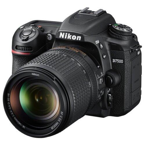 цена на Фотоаппарат Nikon D7500 Kit черный AF-S DX NIKKOR 18-140mm 1:3.5-5.6 G ED VR