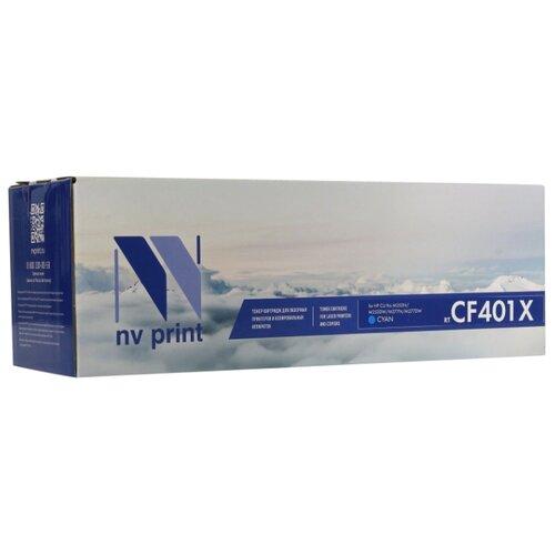 Фото - Картридж NV Print CF401X для HP, совместимый картридж nv print cb383a для hp совместимый