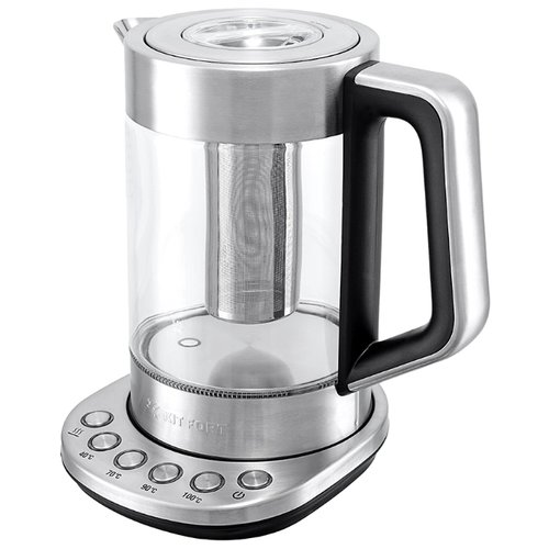Чайник Kitfort KT-622, серебристый