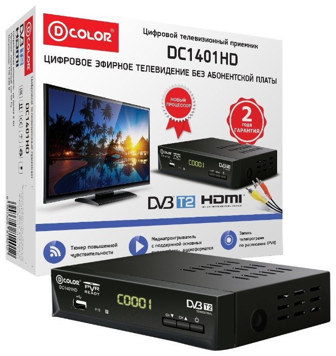 D-COLOR TV-тюнер D-COLOR DC1401HD