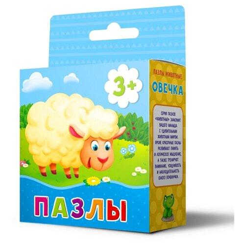 Купить Пазл ГеоДом Животные Овечка (4607177454306), 16 дет., Пазлы