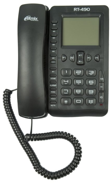 Телефон Ritmix RT-490 White