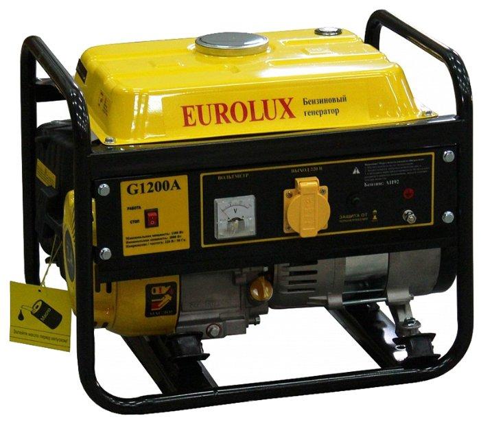 Бензиновый генератор Eurolux G1200A (1000 Вт)