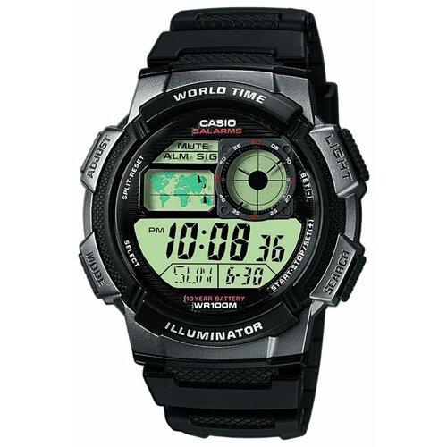 Наручные часы CASIO AE-1000W-1B casio часы casio ae 1000w 1b коллекция digital