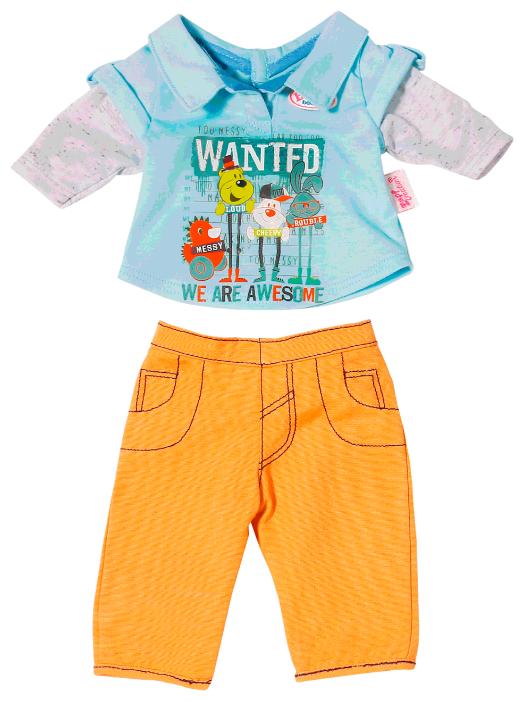 Zapf Creation Комплект одежды для мальчика Baby Born 822197