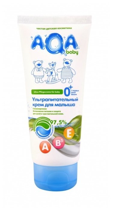 AQA baby Детский ультрапитательный крем