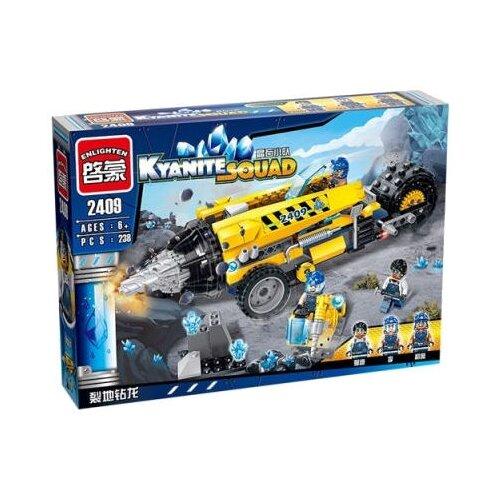 Конструктор Qman Kyanite Squad 2409 Тяжёлая буровая машина, Конструкторы  - купить со скидкой