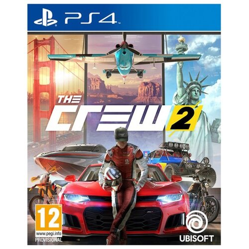 Игра для PlayStation 4 The Crew 2 the holver alley crew page 4