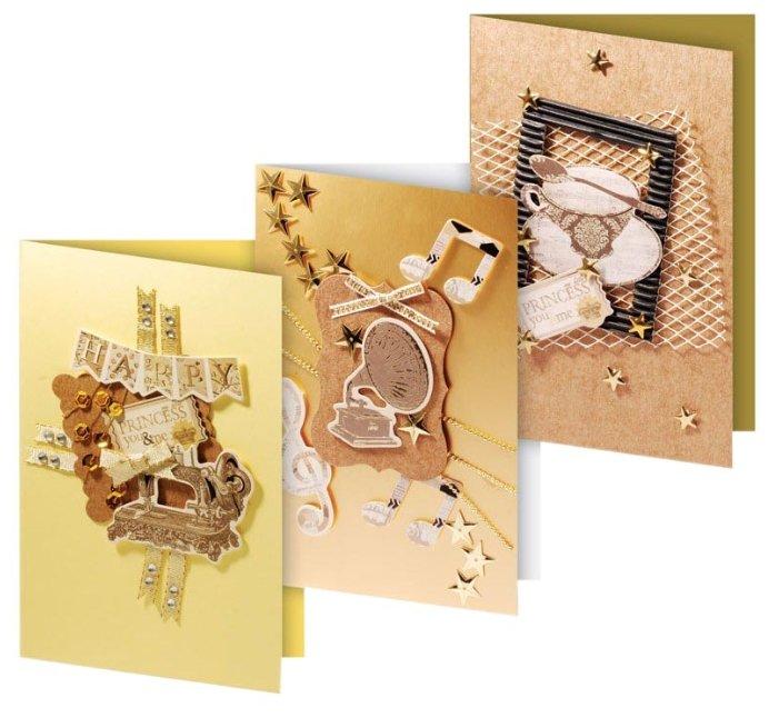 Картинки, набор открыток для ручной работы